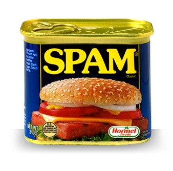 In grade school, Mom would sometimes send in my lunch bag a SPAM and mustard sandwich. Nostalgia.